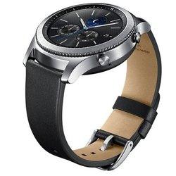 Ремешок для Samsung Galaxy Gear S3 classic (ET-YSL76MBEGRU) (черный)