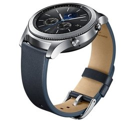 Ремешок для Samsung Galaxy Gear S3 (ET-YSL76MNEGRU) (синий)