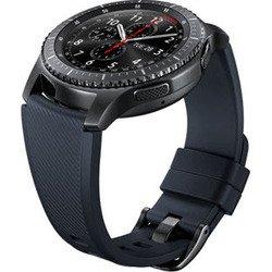 Ремешок для Samsung Galaxy Gear S3 Frontier (ET-YSU76MBEGRU) (черный)