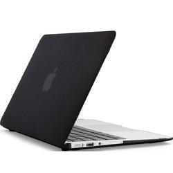 """Чехол для MacBook Air 13"""" + накладка на клавиатуру (Daav Doorkijk D-MBA13-RFC-Black) (черный)"""