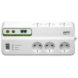 Сетевой фильтр 6 розеток 3м (APC PMH63VT-RS) (белый)