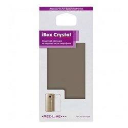 Силиконовый чехол-накладка для Microsoft Lumia 550 (iBox Crystal YT000007943) (серый)