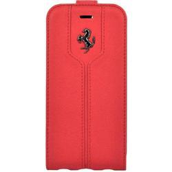 Чехол-флип для Apple iPhone 7 (Ferrari Montecarlo Flip Leather FEMTFLP7RE) (красный)