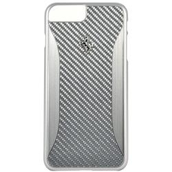 Чехол-накладка для Apple iPhone 7 Plus (Ferrari GT Experience Hard Carbon-Aluminium FERCHCP7LSI) (серебристый)