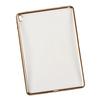 Чехол-накладка для Apple iPad Pro 9.7 (Liberti Project 0L-00029809) (прозрачный, золотистая рамка) - Чехол для планшетаЧехлы для планшетов<br>Силиконовый чехол плотно облегает корпус планшета и гарантирует его надежную защиту от царапин и потертостей.<br>
