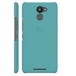 Чехол-накладка для BQ Aquaris U Plus (BQ Blue Candy E000708) (голубой)