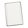 Чехол-накладка для Apple iPad Air 2 (Liberti Project 0L-00029494) (прозрачный, серая рамка) - Чехол для планшетаЧехлы для планшетов<br>Силиконовый чехол плотно облегает корпус планшета и гарантирует его надежную защиту от царапин и потертостей.<br>