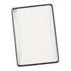 Чехол-накладка для Apple iPad Air 2 (Liberti Project 0L-00029495) (прозрачный, черная рамка) - Чехол для планшетаЧехлы для планшетов<br>Силиконовый чехол плотно облегает корпус планшета и гарантирует его надежную защиту от царапин и потертостей.<br>