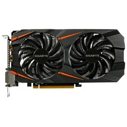 GIGABYTE GeForce GTX 1060 1531Mhz PCI-E 3.0 6144Mb 8008Mhz 192 bit 2xDVI HDMI HDCP Windforce RTL