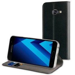 Чехол-книжка для Samsung Galaxy A7 2017 (Muvit Folio Stand Case MUFLS0087) (черный)