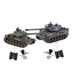 Радиоуправляемый танковый бой T34 vs Tiger (Pilotage RC18388)