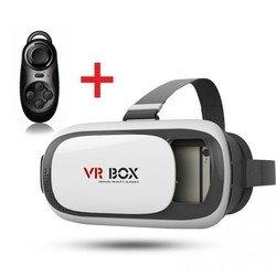Очки виртуальной реальности VR BOX V 2.0 + Джойстик мини (VRBV2)