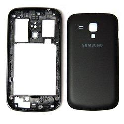 Корпус для Samsung Galaxy S Duos S7562 (М0039881) (черный)