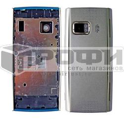 Корпус для Nokia X6 32Gb (М0034700) (серебристый)