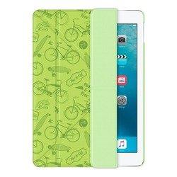 Чехол-книжка для Apple iPad Pro 9.7 (Onzo Wallet 88025) (c тиснением, зеленый)