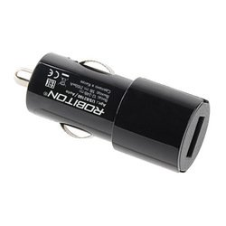 Автомобильное зарядное устройство 1хUSB (Robiton USB2100/Auto 13707) (черный)
