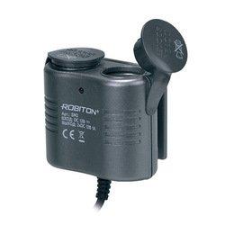 Разветвитель прикуривателя (Robiton SM2 7209) (черный)