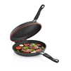 Сковорода-гриль Sinbo SP 5222 - Посуда для готовкиПосуда для готовки<br>Сковорода-гриль с антипригарным покрытием. Диаметр дна 32 см, магнитные ручки, двусторонняя, можно использовать обе стороны для приготовления пищи.<br>