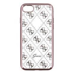 Чехол-накладка для Apple iPhone 7 (Guess GUHCP7TR4GRG) (розово-золотистый)