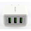 Универсальное сетевое зарядное устройство, адаптер 3хUSB, 3.1А (Red Line Superior Y3 YT000010355) (белый) - Сетевой адаптер 220v - USB, ПрикуривательСетевые адаптеры 220v - USB, Прикуриватель<br>Предназначен для заряда устройств совместимых с выходным током зарядки до 3100 мА и напряжением не более 5В.<br>