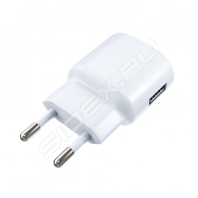Зарядное устройство Red Line Lite TC-1A 1xUSB 1A Black + USB - micro USB Black
