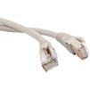 Патч-корд 2хRJ-45 кат.6а 5м (Lanmaster FTP LAN-PC45/S6A-5.0-GY) (серый) - КабельСетевые аксессуары<br>Патч-корд FTP, вилка RJ-45-вилка RJ-45, категория 6а, LSZH, длина 5м.<br>