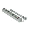 Сетевой фильтр 6 розеток 5м (Exegate SP-6-5G) (серый) - Сетевой фильтрСетевые фильтры<br>6 розеток с заземлением, тип защиты: термопрерыватель, совмещенный с выключателем, длина кабеля 5м.<br>