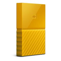 WD My Passport 1Tb (WDBBEX0010BYL-EEUE) (желтый)