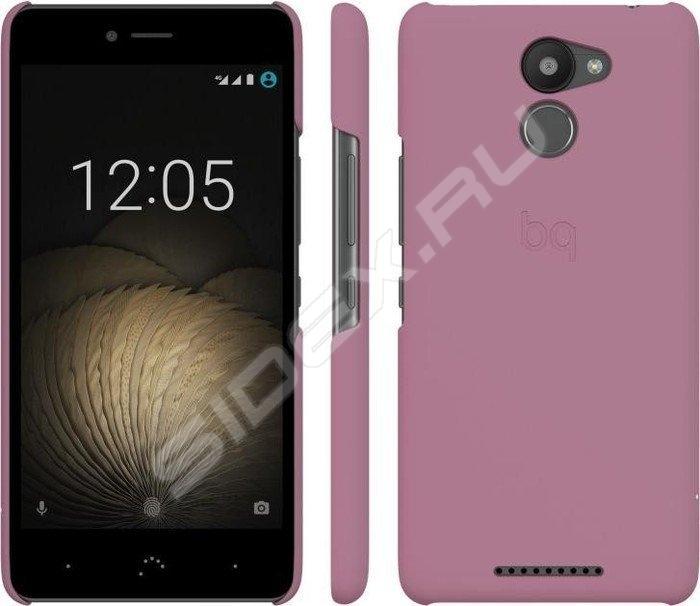 Чехол BQ для BQ Aquaris U Plus розовый E000707