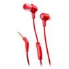 JBL E15 (красный) - НаушникиНаушники<br>Наушники с микрофоном, вставные (затычки), 16 Ом, разъем mini jack 3.5 mm.<br>