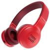 JBL E45BT (красный) - НаушникиНаушники<br>Bluetooth-наушники с микрофоном, накладные, 32 Ом, разъем mini jack 3.5 mm, время работы 16 ч.<br>