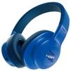 JBL E55BT (синий) - НаушникиНаушники<br>Bluetooth-наушники с микрофоном, полноразмерные, 32 Ом, разъем mini jack 3.5 mm, время работы 20 ч.<br>