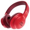 JBL E55BT (красный) - НаушникиНаушники<br>Bluetooth-наушники с микрофоном, полноразмерные, 32 Ом, разъем mini jack 3.5 mm, время работы 20 ч.<br>