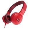 JBL E35 (красный) - НаушникиНаушники<br>Наушники с микрофоном, накладные, 32 Ом, разъем mini jack 3.5 mm.<br>