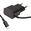 Сетевое зарядное устройство для Apple iPhone 5, 5C, 5S, 6, 6 plus, 6S, 6S Plus, 7, 7 Plus, iPad 4, Air, Air 2, Pro 9.7, Pro 12.9, PRO, mini 1, mini 2, mini 3, mini 4 (Liberti Project 0L-00030220) (черный) - Сетевое зарядное устройствоСетевые зарядные устройства<br>Аксессуар предназначен для зарядки аккумулятора Вашего устройства с разъемом Lightning от сети переменного тока. Ток зарядки 1А.<br>