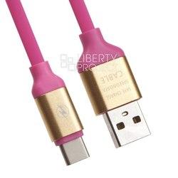 Кабель USB - USB Type-C (Liberti Project 0L-00030538) (розовый)