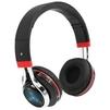 Qumo Freedom Style BT-0014 (черный, красный) - НаушникиНаушники<br>Qumo Freedom Style BT-0014 - гарнитура, Bluetooth 4.2, 250 мАч, накладная, закрытая, 4.5ч в режиме разговора, трехцветная подсветка чашек (мигает в такт воспроизводимой музыки), воспроизведение с SD карт, FM радио, 100 - 18000 Гц.<br>