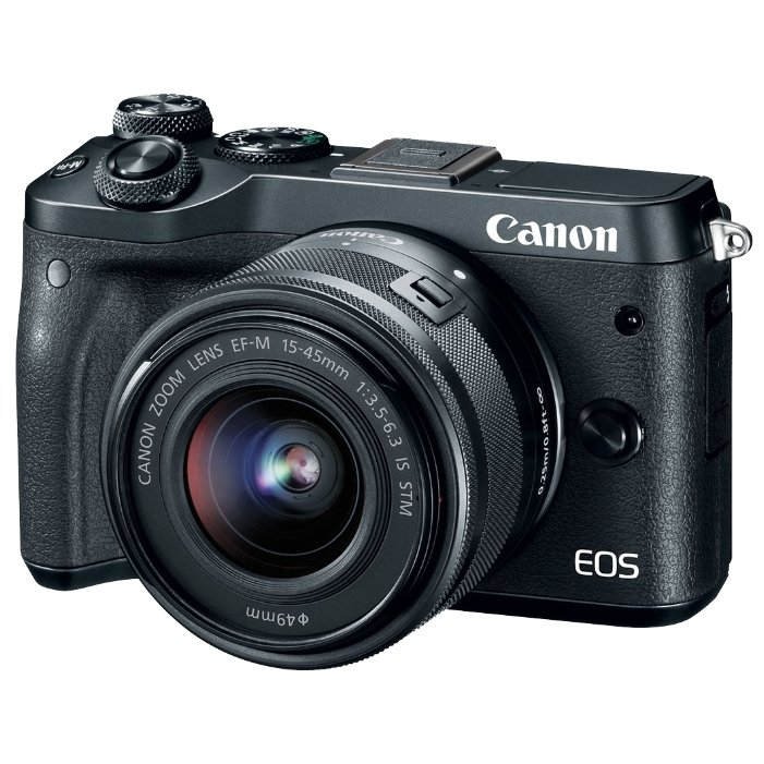 Canon Canon EOS M6 Kit - Фотоаппарат цифровой