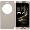 Чехол-книжка для Asus ZenFone 3 Deluxe ZS570KL (Asus View Flip Cover 90AC01E0-BCV012) (золотистый) - Чехол для телефонаЧехлы для мобильных телефонов<br>Чехол плотно облегает корпус и гарантирует надежную защиту телефона от царапин, потертостей и других внешний воздействий.<br>