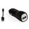 Автомобильное зарядное устройство 1хUSB, 1А + кабель microUSB (Smartbuy NITRO SBP-1501MC) (черный) - Автомобильное зарядное устройствоАвтомобильные зарядные устройства<br>Питание: от автомобильного прикуривателя, выходной ток: 1А, 1xUSB, кабель USB - microUSB.<br>