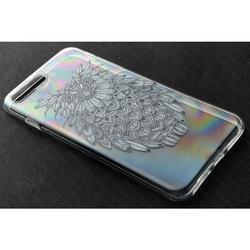 Силиконовый чехол-накладка для Apple iPhone 5, 5S, SE (iBox Fashion YT000009735) (Сова)