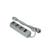 Сетевой фильтр 3 розетки 3м (Exegate SP-3-3G) (серый) - Сетевой фильтрСетевые фильтры<br>3 евророзетки с заземлением, тип вилки: евровилка с заземлением, длина 3м. Тип защиты: термопрерыватель, совмещенный с выключателем.<br>