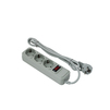 Сетевой фильтр 3 розетки 5м (Exegate SP-3-5G) (серый) - Сетевой фильтрСетевые фильтры<br>3 евророзетки с заземлением, тип вилки: евровилка с заземлением, длина 5м. Тип защиты: термопрерыватель, совмещенный с выключателем.<br>