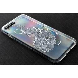 Силиконовый чехол-накладка для Apple iPhone 6, 6S (iBox Fashion YT000009737) (Жар-птица)