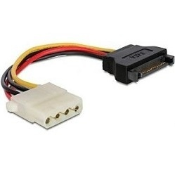 Кабель SATA 15pin-Molex 4pin (Cablexpert CC-SATA-PS-M)