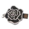 USB 2.0 8GB (Роза со стразами) (10451) (черный) - USB Flash driveUSB Flash drive<br>Флеш-накопитель объемом 8 ГБ, интерфейс USB 2.0, модель Роза со стразами, материал металл.<br>