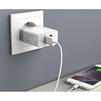 Сетевое зарядное устройство Anker PowerPort 2 (B2021L21) (белый) - Сетевое зарядное устройствоСетевые зарядные устройства<br>Одновременная зарядка до двух гаджетов, технология IQ, быстрая зарядка, комплектный кабель microUSB.<br>