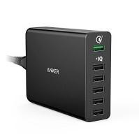 Сетевое зарядное устройство 6хUSB (Anker A2063311) (черный)