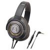 Audio-Technica ATH-WS770iS (коричневый) - НаушникиНаушники<br>Audio-Technica ATH-WS770iS - наушники с микрофоном, мониторные, 38Ом, совместимы с iPhone.<br>