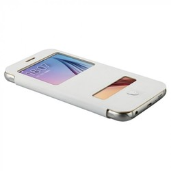Чехол-книжка для Samsung Galaxy S6 (Baseus Primary Color Case) (белый)